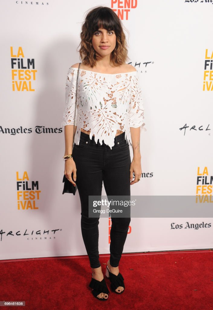Natalie Morales arrives at the 2017 Los Angeles Film Festival - Premiere Of 'Becks' at Arclight Cinemas Culver City on June 15, 2017 in Culver City, California.