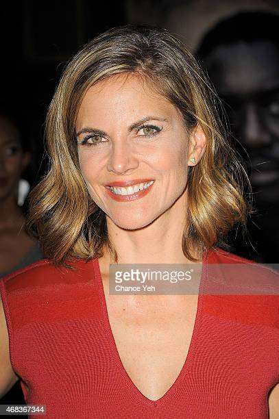Natalie Morales attends 'AD The Bible Continues' New York Premiere Reception at The Highline Hotel on March 31 2015 in New York City