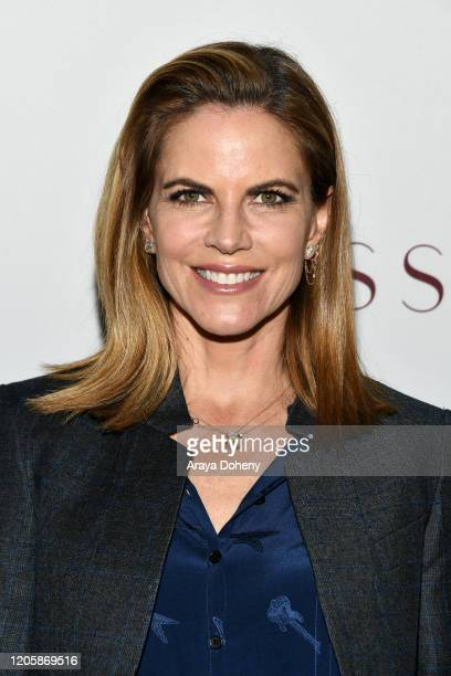 Natalie Morales attends Passionflix's The Will Los Angeles Premiere on February 12 2020 in Culver City California