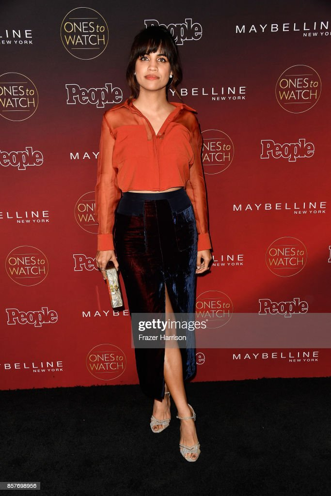Natalie Morales attends People's 'Ones To Watch' at NeueHouse Hollywood on October 4, 2017 in Los Angeles, California.