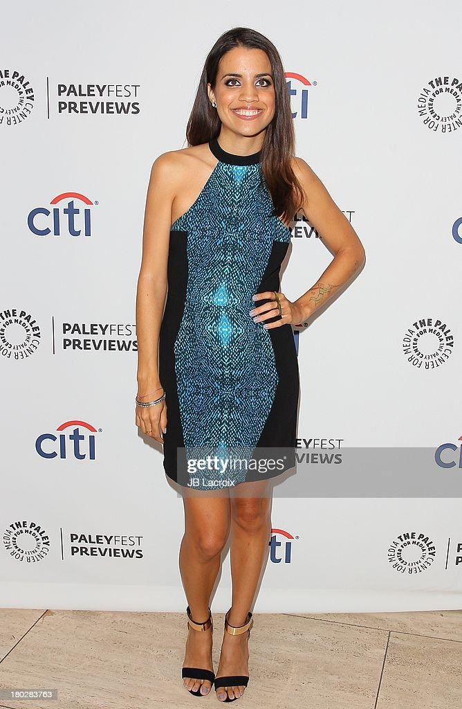 Natalie Morales attends the 2013 PaleyFestPreviews: Fall TV - ABC held at The Paley Center for Media on September 10, 2013 in Beverly Hills, California.