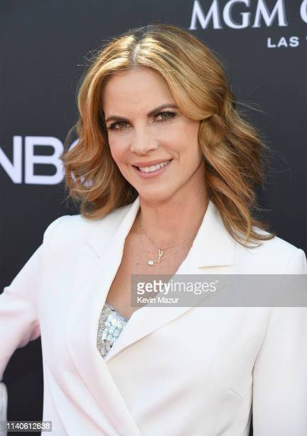 Natalie Morales attends the 2019 Billboard Music Awards at MGM Grand Garden Arena on May 1 2019 in Las Vegas Nevada