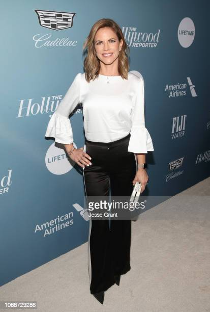 Natalie Morales attends The Hollywood Reporter's Power 100 Women In Entertainment at Milk Studios on December 5 2018 in Los Angeles California