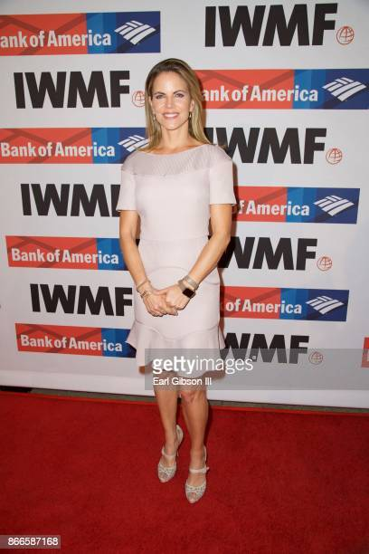 Natalie Morales attends the International Women's Media Foundation 2017 Courage In Journalism Awards at NeueHouse Hollywood on October 25 2017 in Los...
