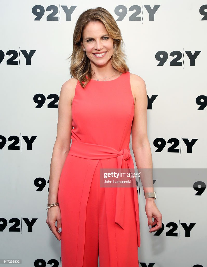 Natalie Morales attends the Natalie Morales in conversation with Al Roker event at 92nd Street Y on April 16, 2018 in New York City.