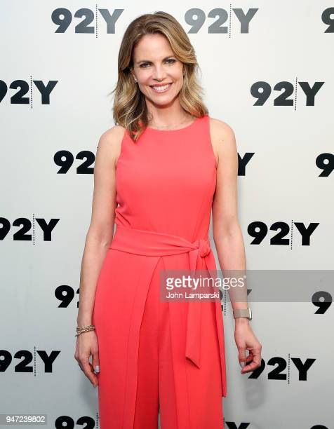 Natalie Morales attends the Natalie Morales in conversation with Al Roker event at 92nd Street Y on April 16 2018 in New York City