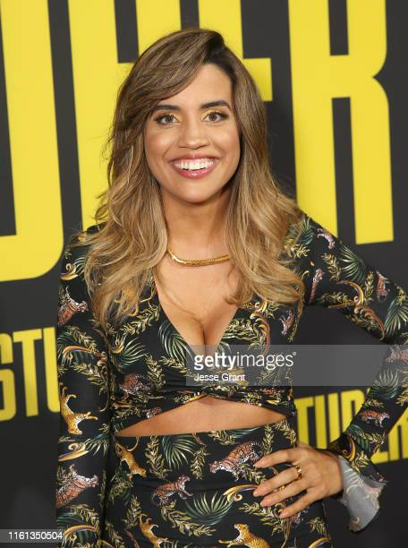 Natalie Morales attends the Premiere of 20th Century Fox's Stuber at Regal Cinemas LA Live on July 10 2019 in Los Angeles California