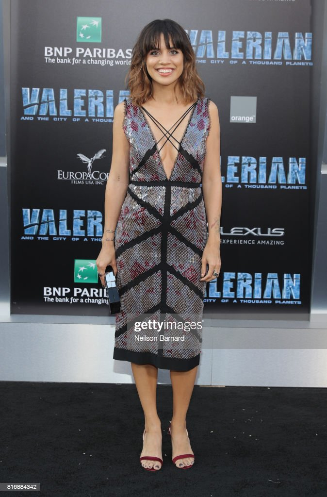 Natalie Morales attends the premiere of EuropaCorp and STX Entertainment's 'Valerian and The City of a Thousand Planets' at TCL Chinese Theatre on July 17, 2017 in Hollywood, California.