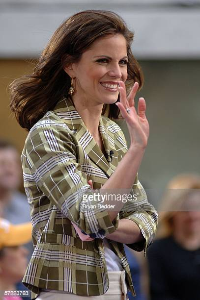 Natalie Morales of NBC News hosts the NBC Today Show Toyota Concert Series in Rockefeller Plaza March 31, 2006 in New York City.