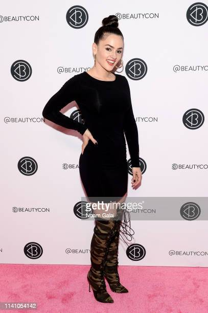 Natalie Negrotti attends Beautycon Festival New York 2019 at Jacob Javits Center on April 07 2019 in New York City