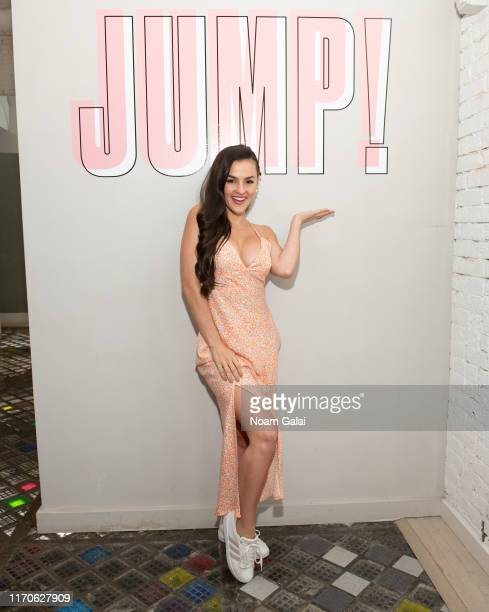 Natalie Negrotti attends the Beyond Yoga x Amanda Kloots Collaboration Launch Event on August 27 2019 in New York City