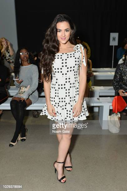 Natalie Negrotti attends the Taoray Wang show during New York Fashion Week The Shows on September 8 2018 in New York City
