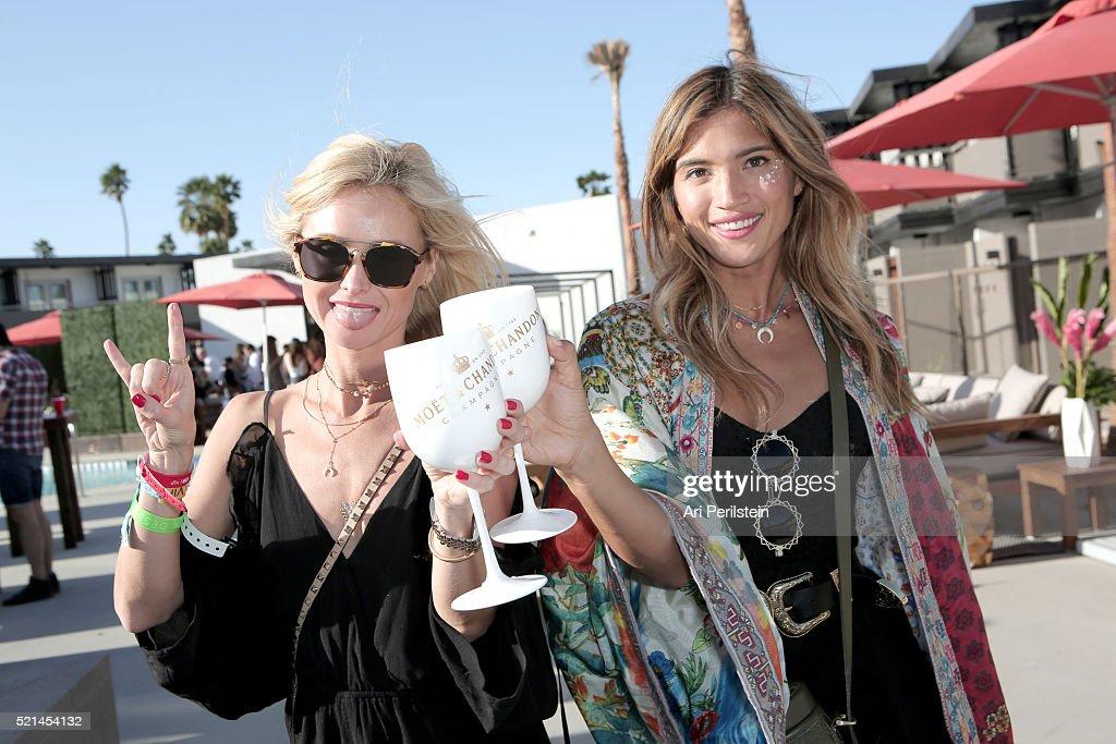 CA: Moet & Chandon Celebrates Coachella With REVOLVE