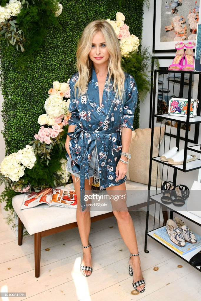 Natalie Obradovich attends Harper's BAZAAR X Sam Edelman Mid-Summer Hamptons Event on August 2, 2018 in Southampton, New York.