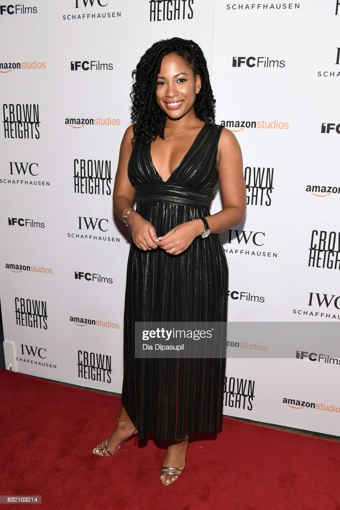 Natalie Paul attends the 'Crown Heights' New York premiere at Metrograph on August 15, 2017 in New York City.