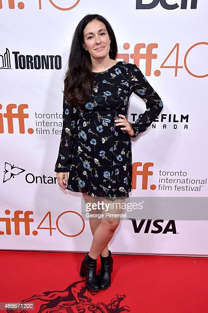 Natalie Petozzi attends the Forsaken premiere during the 2015 Toronto International Film Festival at Roy Thomson Hall on September 16 2015 in Toronto...
