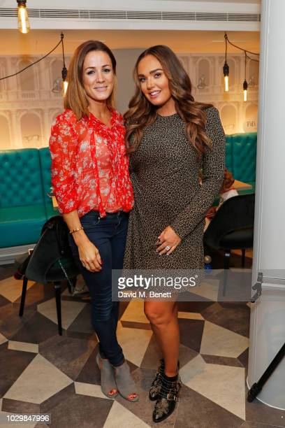 Natalie Pinkham and Tamara Ecclestone attend Fifi Fest hosted by Tamara Ecclestone at Cloud Twelve private members club to promote her baby and kids...