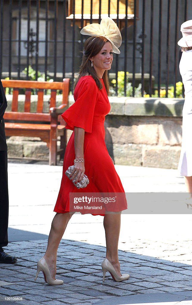 adbead8a Natalie Pinkham arrives for the Royal wedding of Zara Phillips and ...