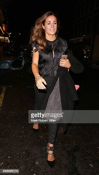 Natalie Pinkham attending the Storm In A C Cup By Caroline Flack Book Launch Party on October 21 2015 in London England