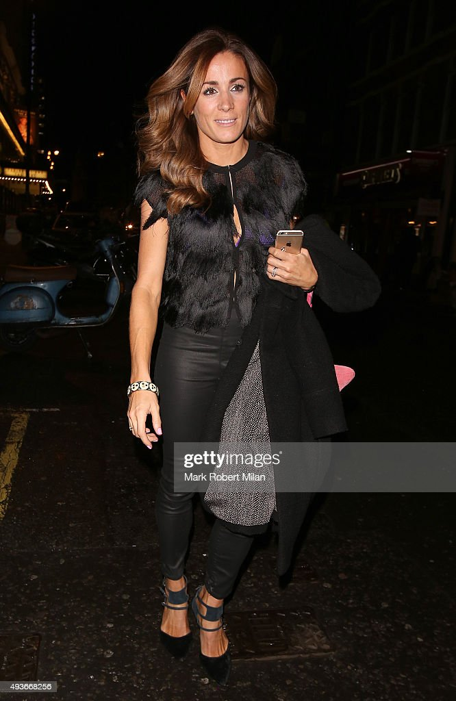 Natalie Pinkham attending the 'Storm In A C Cup' By Caroline Flack Book Launch Party on October 21, 2015 in London, England.