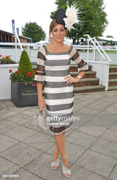 Natalie Pinkham attends Ladies Day of the 2017 Investec Derby Festival at The Jockey Club's Epsom Downs Racecourse at Epsom Racecourse on June 2 2017...