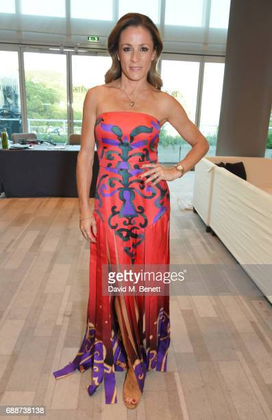 Natalie Pinkham attends the Amber Lounge Fashion Monaco 2017 at Le Meridien Beach Plaza Hotel on May 26 2017 in Monaco Monaco