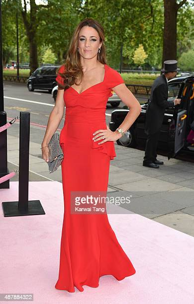Natalie Pinkham attends the Boodles Boxing Ball at The Grosvenor House Hotel on September 12 2015 in London England