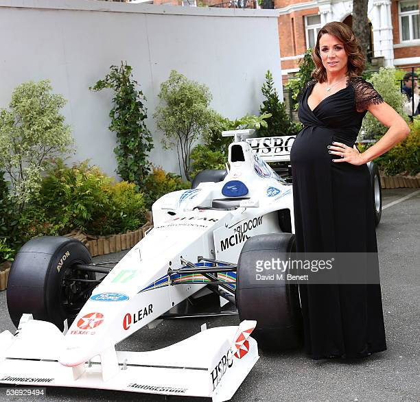 Natalie Pinkham attends the 'End of Silence' charity event at Abbey Road Studios in aid of Hope and Homes for Children on June 1 2016 in London...