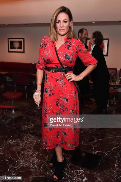 Natalie Pinkham attends the English National Opera's opening night of the season featuring a performance of Orpheus and Eurydice at The London...