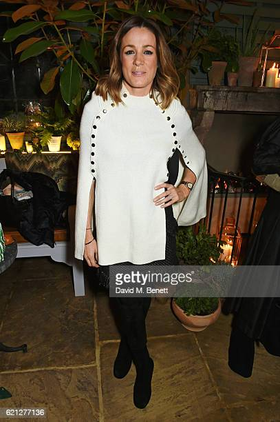 Natalie Pinkham attends The Ivy Chelsea Garden's Guy Fawkes party on November 5 2016 in London England