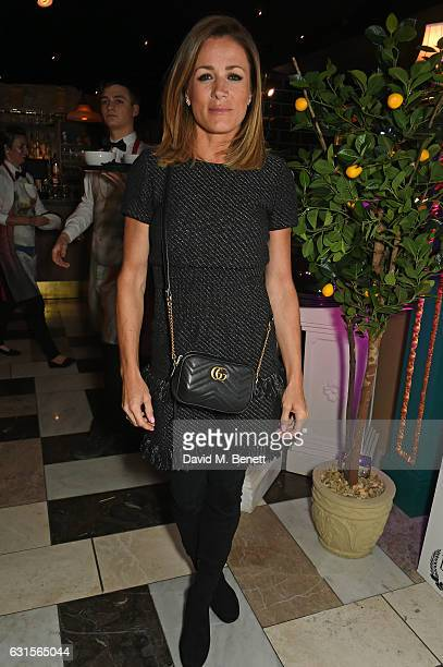 Natalie Pinkham attends the launch of Bunga Bunga in Covent Garden on January 12 2017 in London England