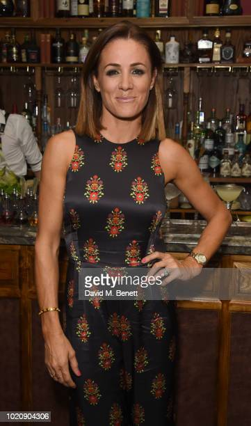 Natalie Pinkham attends The Natalie Pinkham Cancer Fundraising Party at Mr Fogg's House of Botanicals on August 21 2018 in London England