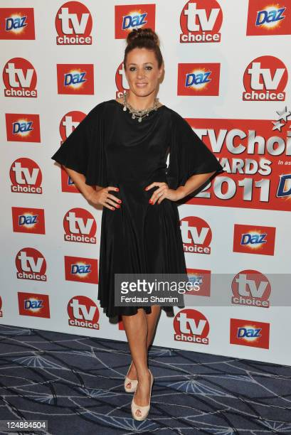 Natalie Pinkham attends the The TVChoice Awards 2011 at The Savoy Hotel on September 13 2011 in London England