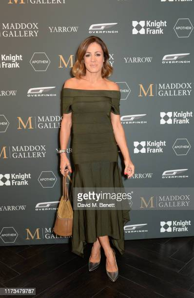 Natalie Pinkham attends the VIP launch event for 'Pride Rock by David Yarrow' at Maddox Gallery on October 3, 2019 in London, England.