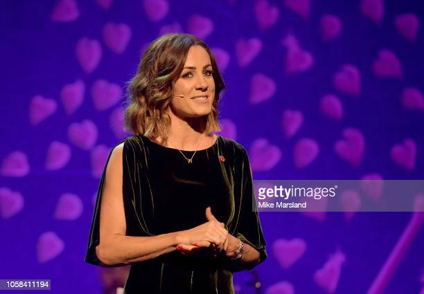 Natalie Pinkham hosts the SeriousFun London Gala 2018 at The Roundhouse on November 6 2018 in London England