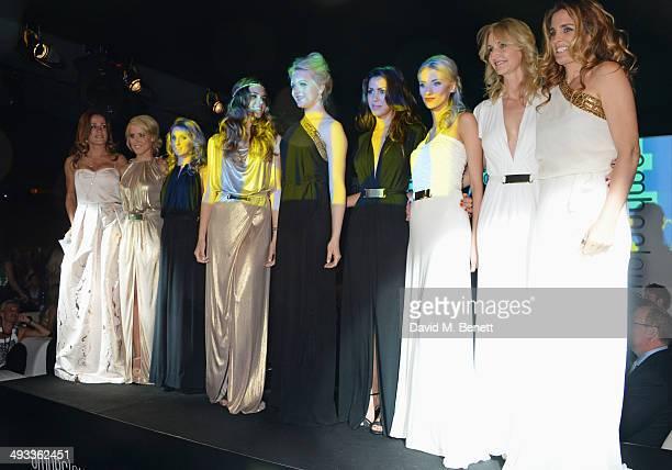 Natalie Pinkham Jennifer Becks Camille Marchetti Paola Ruiz Emilia Pikkarainen Tamara Boullier Chloe Roberts Sonia Irvine and Maria Del la Rosa pose...