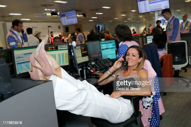 Natalie Pinkham representing Hopes and Homes for Children attends BGC Charity Day at One Churchill Place on September 11, 2019 in London, England.