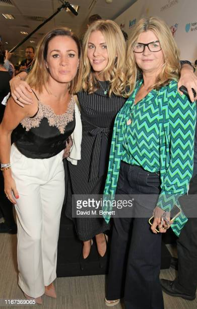 Natalie Pinkham representing Hopes and Homes for Children, Donna Air representing Elephant Family and Susannah Constantine representing Elephant...