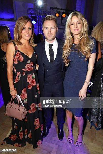 Natalie Pinkham Ronan Keating and Storm Keating attend the 50th anniversary of The Beatles SGT Pepper Album at Abbey Road Studios for End The Silence...