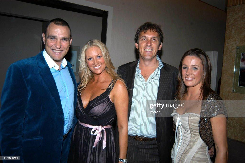 The Vinnie Jones poker night : News Photo