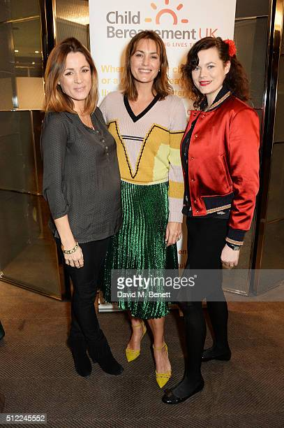 Natalie Pinkham Yasmin Le Bon and Jasmine Guinness attend a Ladies' Winter Lunch in aid of Child Bereavement UK at The Bulgari Hotel on February 25...