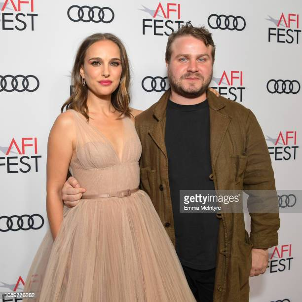 Natalie Portman and Brady Corbet attend the Screening of 'Vox Lux' at AFI FEST 2018 Presented By Audi at the Egyptian Theatre on November 9 2018 in...