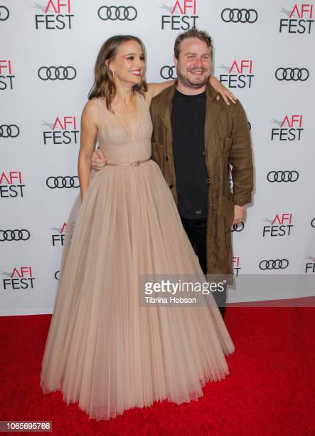 Natalie Portman and Brady Corbet attend the 'Vox Lux' special screening during AFI FEST 2018 presented by Audi at American Cinematheque's Egyptian...