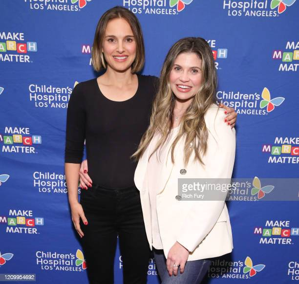 """Natalie Portman and Danielle Fishel Karp attend Children's Hospital Los Angeles' 5th annual """"Make March Matter"""" fundraising campaign kick-off at..."""