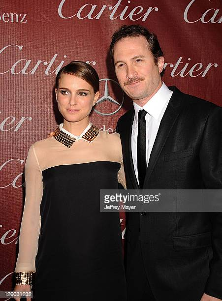 Natalie Portman and Director Darren Aronofsky attend the 22nd Annual Palm Springs International Film Festival Awards Gala at Palm Springs Convention...