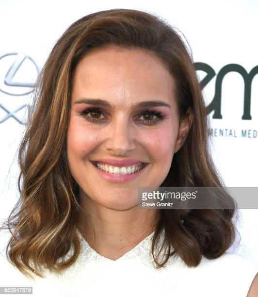 Natalie Portman arrives at the 27th Annual EMA Awards at Barker Hangar on September 23 2017 in Santa Monica California