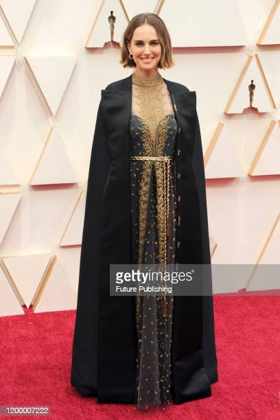 Natalie Portman arrives at the 92nd Annual Academy Awards at Hollywood and Highland on February 09, 2020 in Hollywood, California. PHOTOGRAPH BY P....