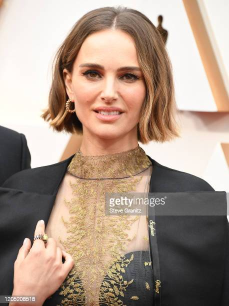 Natalie Portman arrives at the 92nd Annual Academy Awards at Hollywood and Highland on February 09 2020 in Hollywood California