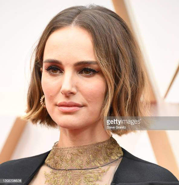 Natalie Portman arrives at the 92nd Annual Academy Awards at Hollywood and Highland on February 09, 2020 in Hollywood, California.