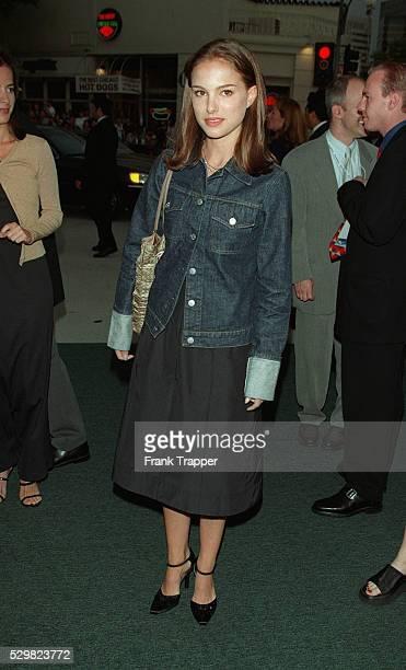 Natalie Portman arrives at the Mann's Village Theater